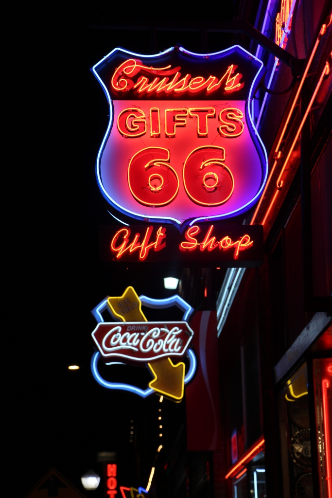 Didn't realize how difficult it would be to catch a good shot of a neon sign.