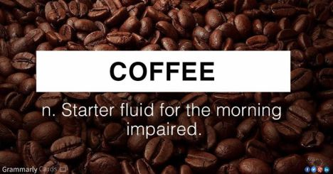 Coffee Starter Fluid