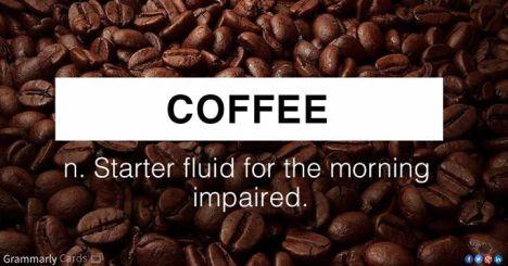 Coffee Starter Fluid