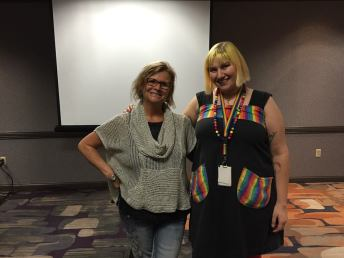 Attended workshop taught by author PC Cast