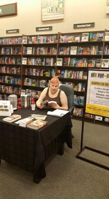 Reading at B+N for Harper Lee