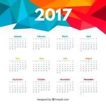 polygonal-2017-calendar_23-2147576293