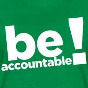 be-accountable-women-s-t-shirts-womens-premium-t-shirt