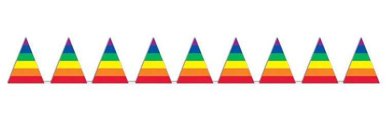 gayflagpennants