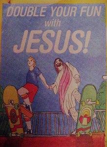Skateboarding Jesus